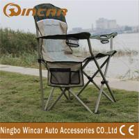 Wholesale Portable Folding Outdoor Camping Chairs With Cup Holder for family from china suppliers