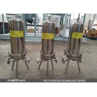 Wholesale Small flow rate single Cartridge Filter Housing / 5 micron cartridge filter from china suppliers