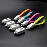 Wholesale Key chain Micro USB Male to USB 2.0 Male Data Sync/Charging Cable 20cm for android phones from china suppliers