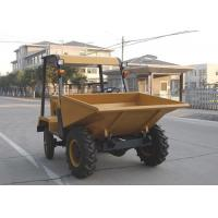 Wholesale Wheel 2WD 1.5 tons Tracked Wheelbarrow Hire , Hydraulic Concrete Four Wheel Barrow from china suppliers