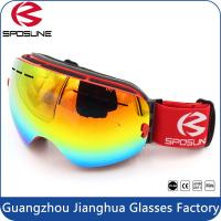 Wholesale Fashionable REVO Lenses Polarized Ski Goggles With Nose Guard / Custom Logo UV400 from china suppliers