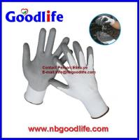 Wholesale HPPE fiber pu or nitrile coated level 5 cut resistant gloves from china suppliers
