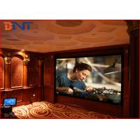 Wholesale Soft Metal 3D Home Theater Projector Screen HD Fixed Frame Screen 135 Inch from china suppliers