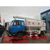 Wholesale best quality 15m3 hydraulic system farm-oriented animal feed truck for sale, 4*2 15m3 hydraulic feed delivery truck from china suppliers