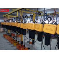 Wholesale Professional Remote Control Electric Chain Block Hoist For Lifting Save Power from china suppliers