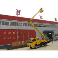 Wholesale Working lift truck / Articulated Hydraulic work platform truck / Aerial Platform Truck from china suppliers