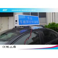 Wholesale RGB Video Taxi Top Led Display Advertising Light Box With 4g / Wifi Control from china suppliers