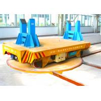 Wholesale Industrial Field Usage Turntable Turning Electric Rail Cart For Material Handling from china suppliers