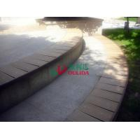 Buy cheap Fire Resistance WPC Composite Decking , Veranda Composite Decking No Pollution from wholesalers