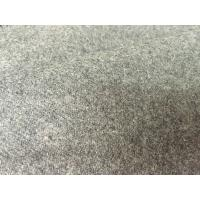 Wholesale Supreme Breathable Flannel Wool Fabric For Scarves / Overcoats Roll Dyed from china suppliers
