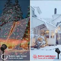 Quality laser light outdoor christmas lights projector,garden decoration landscape christmas laser light for sale