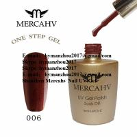 Quality MERCAHV one step  UV nail polish gel for sale