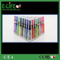 Wholesale Cheap Sale high quality CE4 Clearomizer for ego/evod/ego twist battery from E-Life Smoking from china suppliers