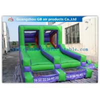 Wholesale Double Channel Inflatable Sports Games Ball Goal Court With CE Approved Blower from china suppliers