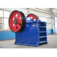 Quality 250 R / Min Jaw Crusher Machine Energy Saving Gold Ore Crushing Machine PE600×900 for sale