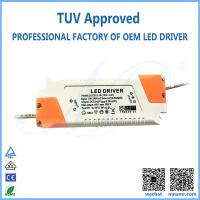Wholesale TUV approved LED lighting transformer driver for 18w downlight from china suppliers