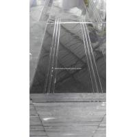 Wholesale Hunan Ink Black Marble Step With Anti-Slip Lines, Black Marble Stair from china suppliers