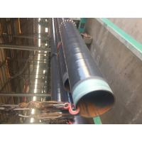 DN 500 ASTM A106 Coated Steel Pipe CSA Z245.21 3L PE Coating Bevelled End for sale