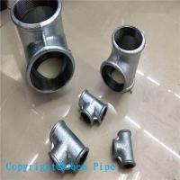 Wholesale Hot Dipped Galvanized Malleable Iron Pipe Fitting Tee from china suppliers