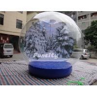 Wholesale Custom Logo PVC Tarpaulin PVC Dome Inflatable Snow Globe for Christmas Promotion from china suppliers