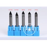 Quality Diamond Marble stone tools 45 degree PCD cnc router engraving bits for Grantie for sale