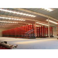 Wholesale Q235B Steel Cantilever Storage Racks , Selectivity Heavy Duty Cantilever Racking from china suppliers