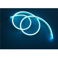 Buy cheap Silicone Neon Light With Ice Blue Color , 12V 18 x 6mm Size For Advertising And Landscape Lighting from wholesalers