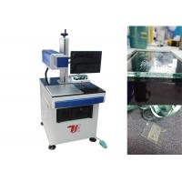 Wholesale Air Cooling Co2 Laser Marking Machine / Laser Glass Printer For Non Metallic from china suppliers