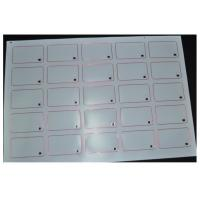 Wholesale Customized Thickness 13.56MHZ RFID Smart Card Inlay L85.4mm * W54mm 8kbit Capacity from china suppliers