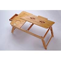 Wholesale green bamboo computer table/laptop desk from china suppliers