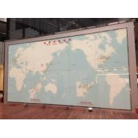 Wholesale Custom Digital Printed Glass World Map , Lamination Glass For Glass Wall from china suppliers