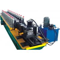 Quality Perforation Shutter Door Roll Forming Machine With PLC Control System for sale