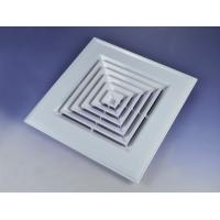 Plastic air diffuser for ventilation
