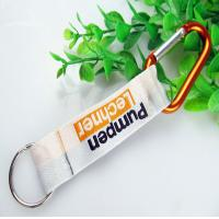 Wholesale Polyester short lanyard with aluminum Carabiner, metal bottle opener holder short lanyard from china suppliers