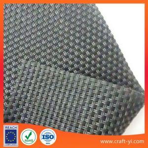 Quality Black color solar sun shade fabric Textilene solar screens for sale