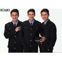 Wholesale Black Two Pockets Security Officer Jackets For Security Guards from china suppliers