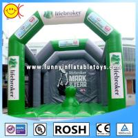 Wholesale Green Adult Inflatable Playground Inflatable Structure Hand - Painting from china suppliers