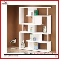 Wholesale home decor tall wood bookcase from china suppliers