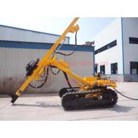 Wholesale T38 / T51 shank DTH Drilling Rig , 25m Depth Full Pneumatic Top Hammer Drill Rigs from china suppliers