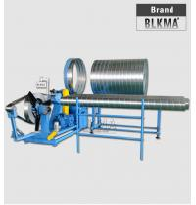 Wholesale BLKMA hvac spiral round pipe making machine, spiro ducting machine spiral tube former price from china suppliers