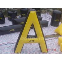 "Wholesale "" A"" Shape Tactical Inflatable Paintball Bunker / Air Bunkers for Paintball Games from china suppliers"