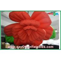 Wholesale Wedding Inflatable Lighting Decoration /  Red Inflatable Flower Lighting from china suppliers
