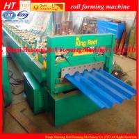 Wholesale High speed Roof Panel Roll Forming Machine for Automatic Car from china suppliers