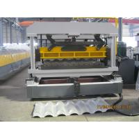 Wholesale Professional Trapezoidal Roof Tile Roll Forming Machine 45# Steel from china suppliers