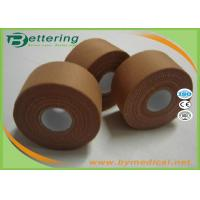 Wholesale 3.8cmx13.7m Latex free zinc oxide athletic rigid strapping tape viscose sports tape to limit joint movement from china suppliers