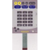 Wholesale Silicone Keypad Backlit Tactile Membrane Switch 25mA - 100mA , Silk Screen Printing from china suppliers