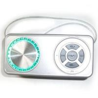 Wholesale White Rectange Shape Mini Speaker Carry-on for MP3/iPhone/iPad (UK-301) from china suppliers