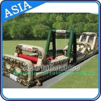 Wholesale Boot camp inflatable obstacle challenges course from china suppliers