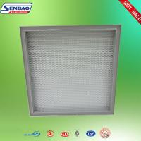 Wholesale Square Liquid Tank Small Glassfiber Air Filters For HVAC System from china suppliers