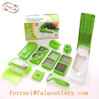 Quality China Wholesale 12Pcs Green Stainless Steel Kitchen Gadget for sale
